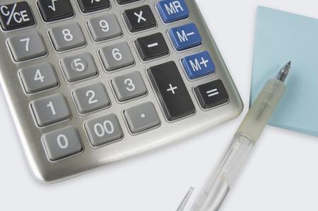 contabilidad: contabilidad complemento c�lculo super�vit n�mero calculadora Foto de archivo