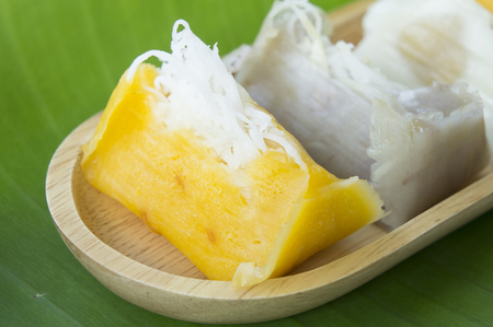 coconut milk: Sweet Thai banana coconut milk ingredients