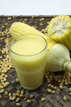 corn flour: corn milk grain ripe farm crop food nature harvest