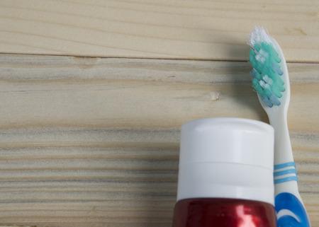handhold: toothbrush brush held hold dental dentist handhold Stock Photo