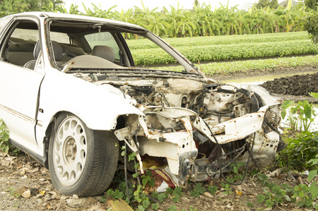 crush on: car wreck crash crush die collision drunk damage fix