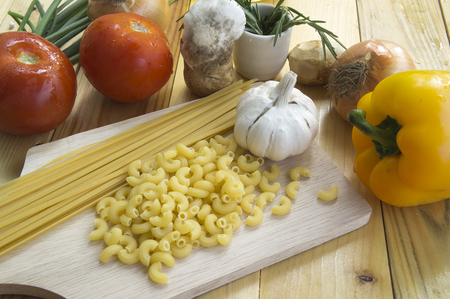 ingredient: Spaghetti Recipes ingredient on table