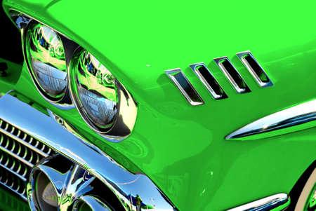 lime green 58 impala photo