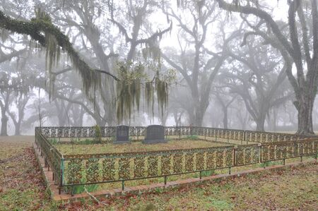 Vintage Southern Cemetery