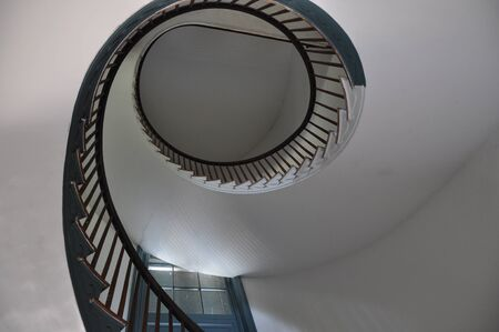 Vintage Spiral Staircase