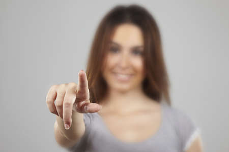 Pointing at you Stock Photo - 16693216