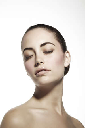 Beauty of a young woman