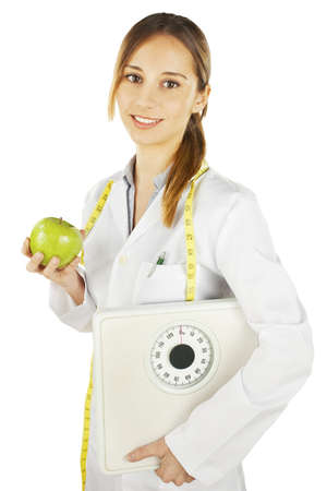 nutritionist: Healthy eating and lifestyle concept.  Stock Photo