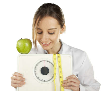dietitian: Healthy eating and lifestyle concept