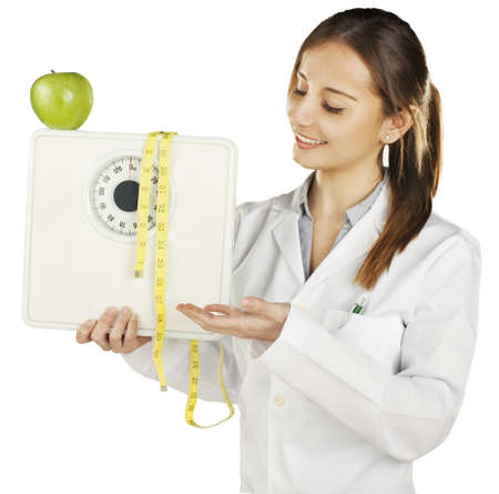 nutritionist: Healthy eating and lifestyle concept