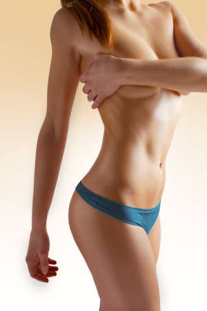 cellulite: body care  beautiful female figure