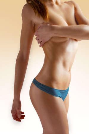 cintura perfecta: el cuidado del cuerpo figura femenina hermosa