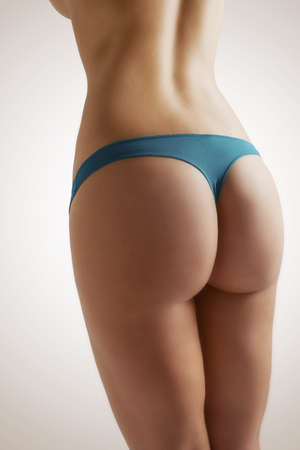attractive ass: body care  beautiful female figure