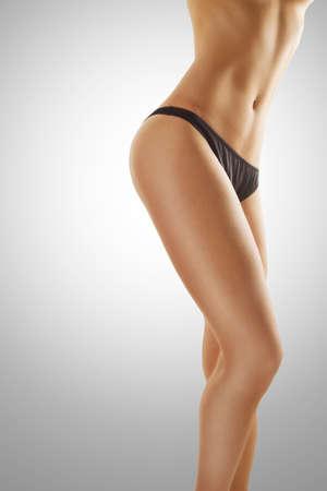 body slim: Parfait corps f�minin Banque d'images