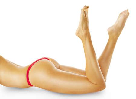 nude female buttocks: Perfect female body