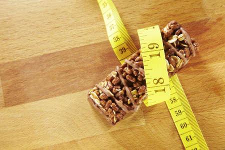 barra de cereal: Una barrita de cereales energ�a