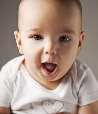 Reden Baby mit schönen Augen