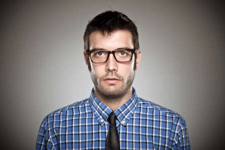 Young man face, high detailed portrait Stock Photo - 19721817