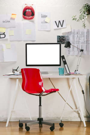 The office of a creative worker Stock Photo - 21227812