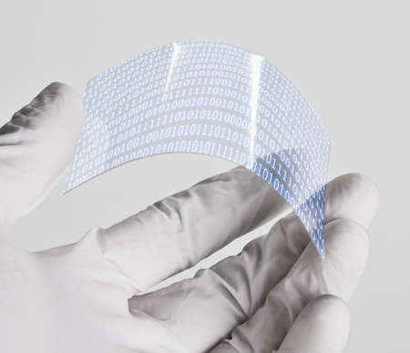 Graphene application Stock Photo - 21231132