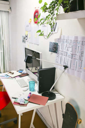 The office of a creative worker  photo