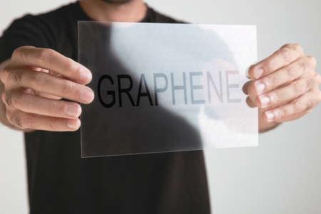 グラフェンのアプリケーション 写真素材