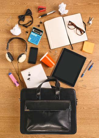 objects inside a bag photo