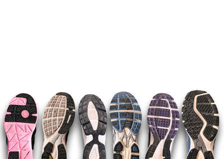 sole of shoe: Variety of shoes