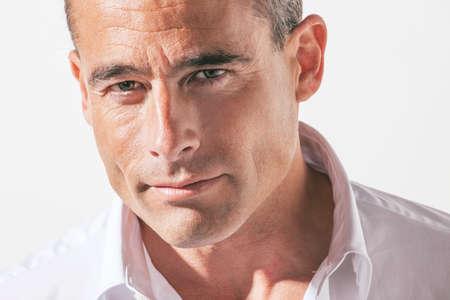 Portrai der reifen Mann Standard-Bild - 24404525