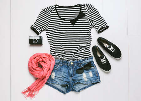 accesory: Outfit of casual woman