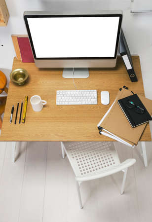 The office of a creative entrepreneur  Stock Photo