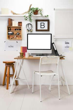 enterprising: The office of a creative entrepreneur  Stock Photo