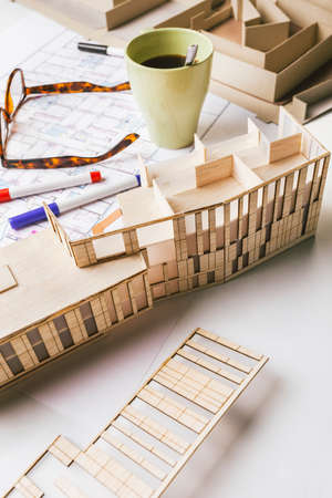 drafting tools: Architectural project