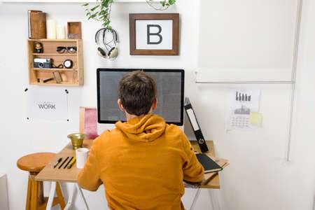 The office of a creative entrepreneur  Stock fotó