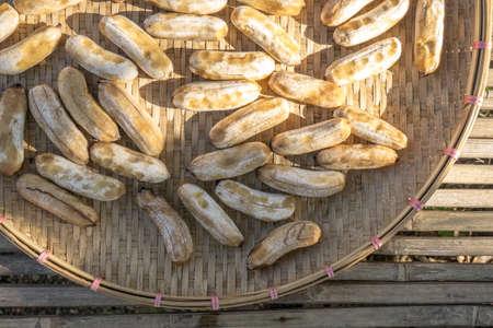 sundry: Banana preserved by sundry method