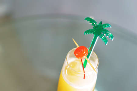 amaretto: Classic sweet dream cocktail with light rum and amaretto