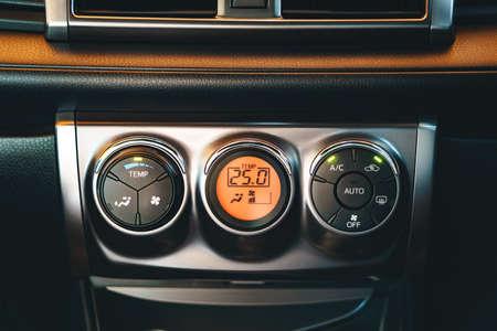 temperature controller: Car air conditioning control panel