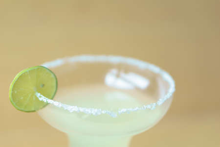 triple: Classic margarita tequila cocktail with triple sec