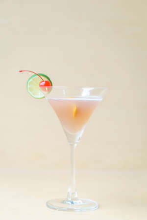 cosmo: Cosmo politan cocktail on wooden background Stock Photo