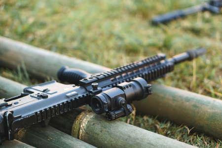 Custom air soft gun using for sport