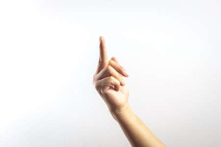overbearing: A hand gesture using middle finger