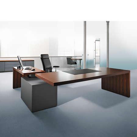 meubles de bureau: bureau moderne d'int�rieur