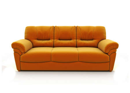 leren bank: mooi stijlvol sofa