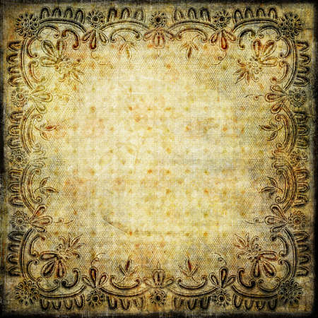 decorative paper with lacy border