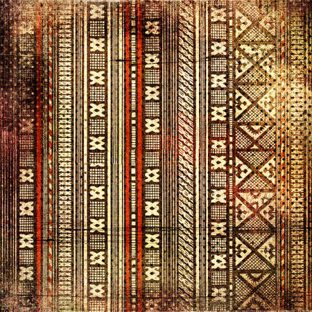 african fabric: grunge african background