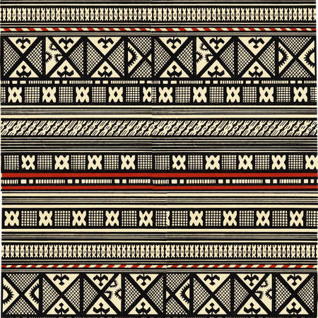 brown pattern: african style Stock Photo