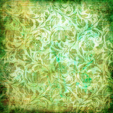 decorative green background photo