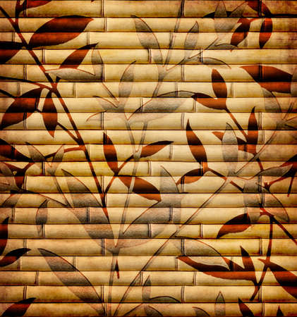 decorative bamboo texture