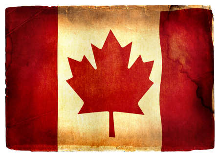 old canadian flag