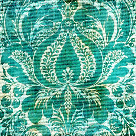 blue floral background Stock Photo - 5135384